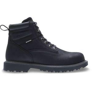 Men's Floorhand Waterproof Black Work Boot  Sz 11